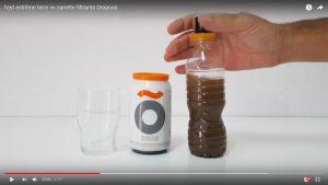 Test extrême terre vs canette filtrante Dropson